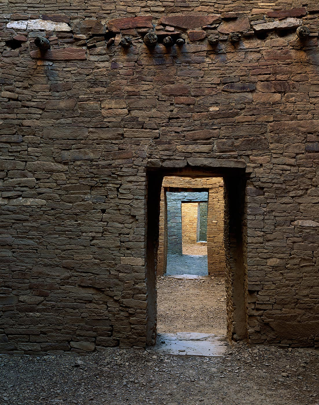 1200 Doorways Through The Ages, Chaco Culture National Park, New Mexico