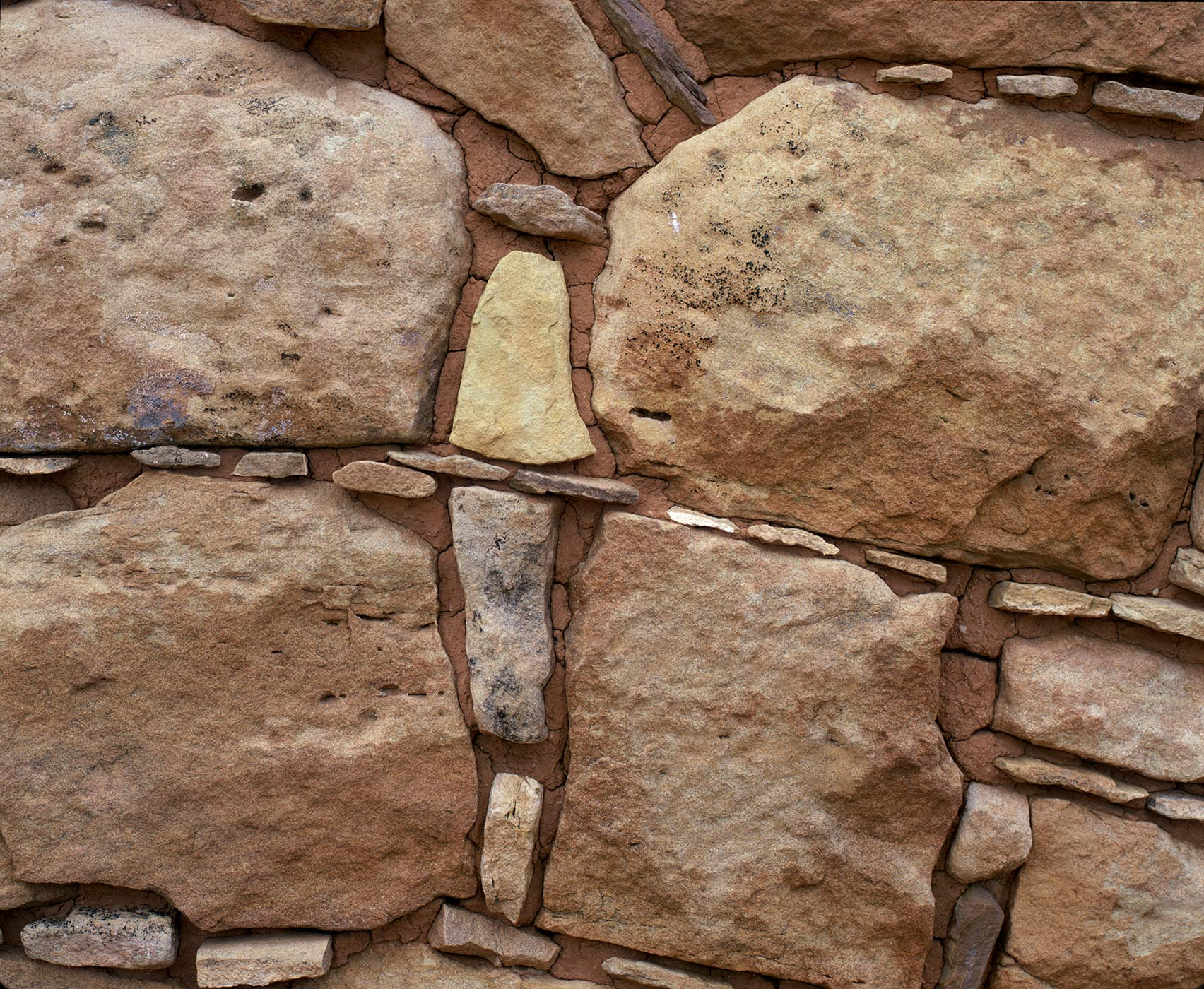 217 Pueblo Masonry Detail, Hovenweep National Monument, Colorado