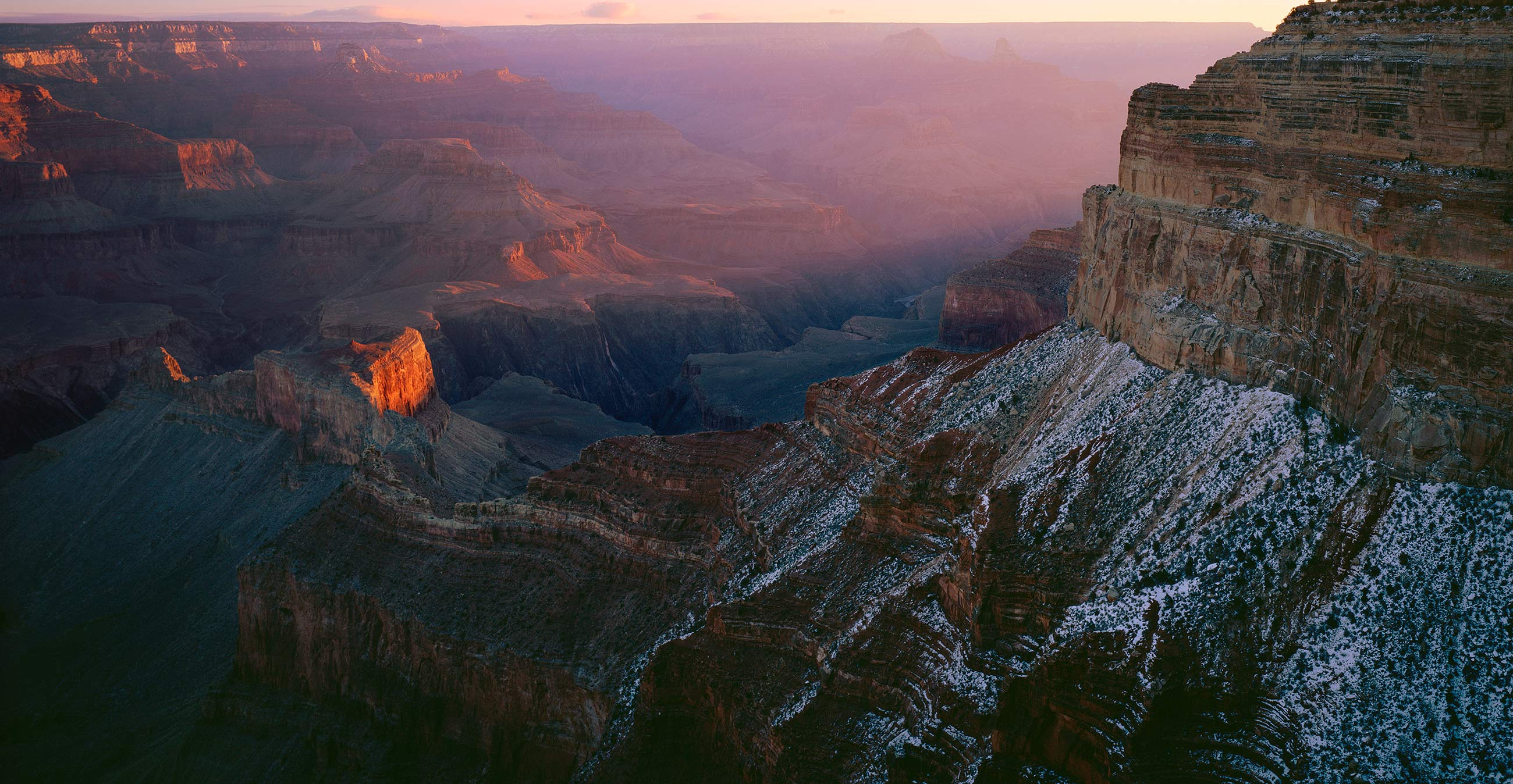 415 Light Across the Canyon, Grand Canyon National Park, Arizona