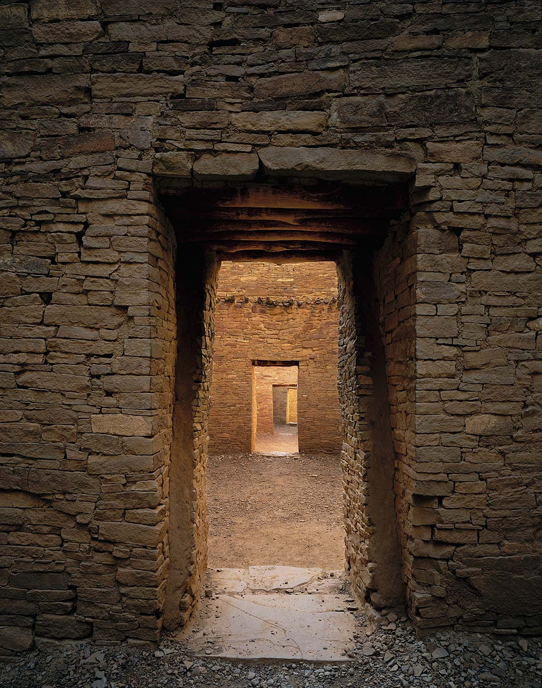 421 Illuminated Doorways, Chaco Culture National Park, New Mexico