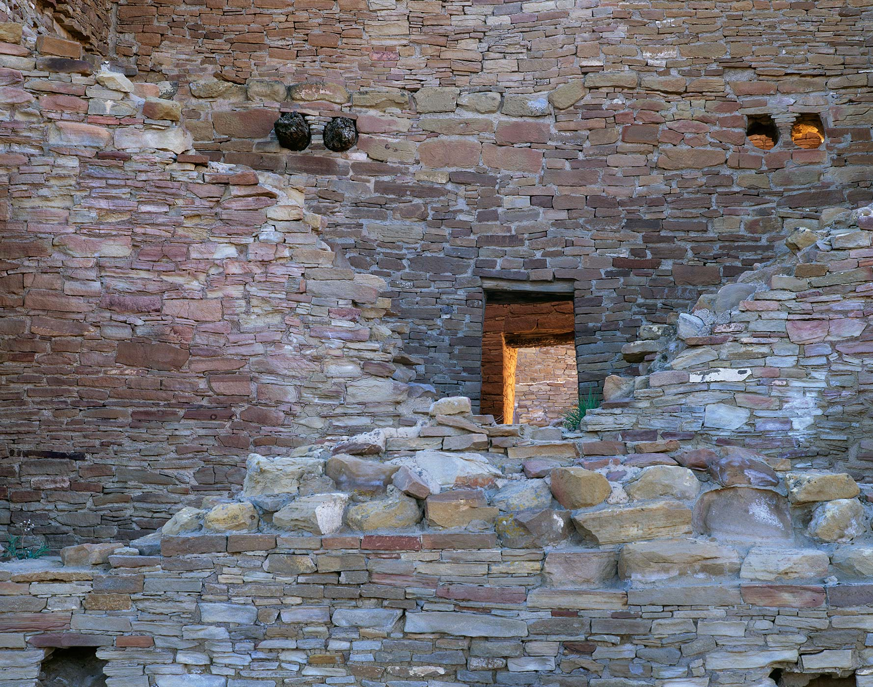 508 Crumbled Walls, Chaco Culture National Park, New Mexico