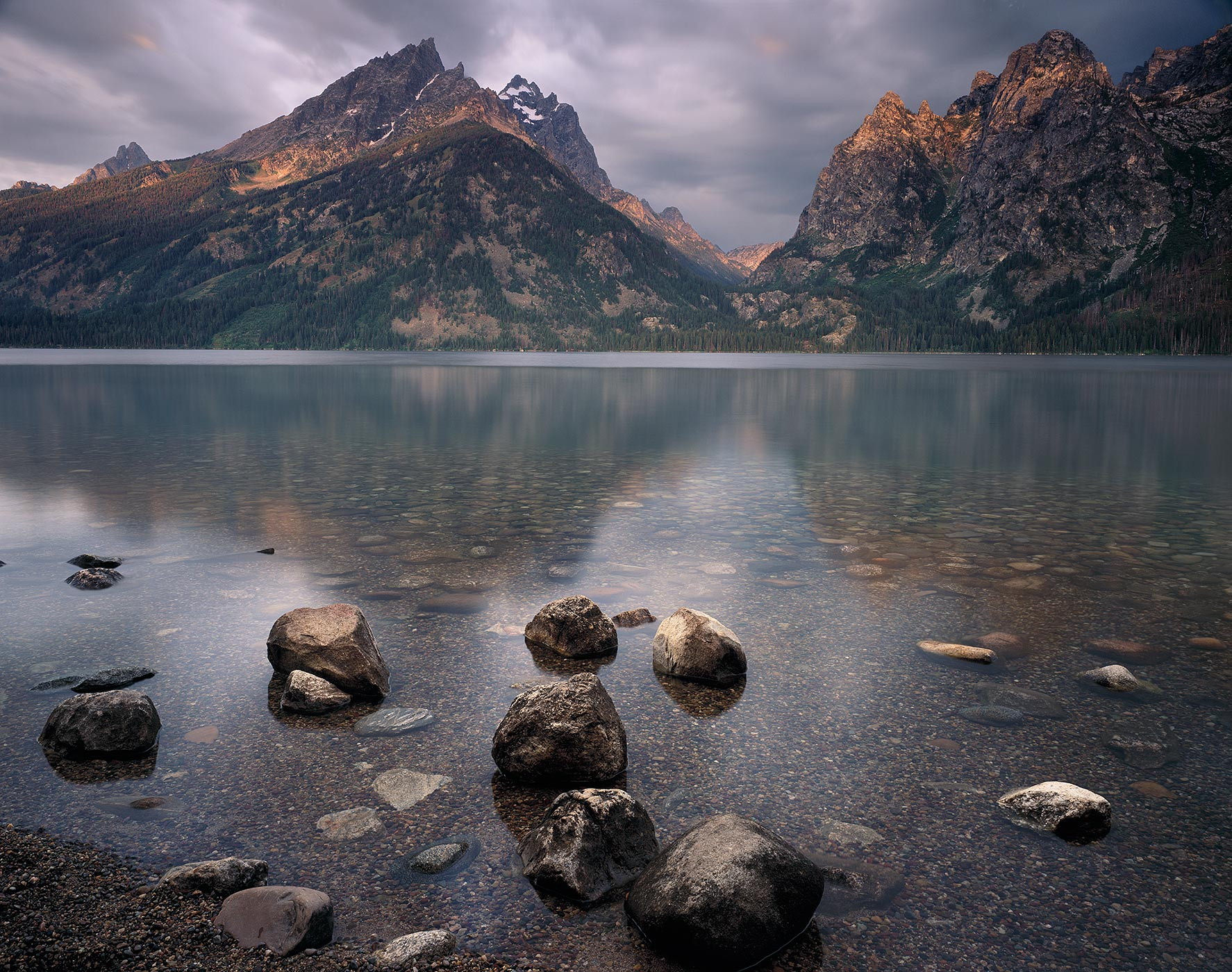 510 Cloud Break Over Jenny Lake, Grand Teton National Park, Wyoming