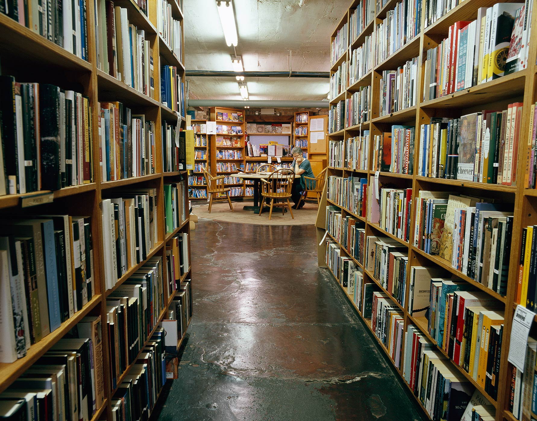 Reading After Work, 57th Street Bookstore, Chicago
