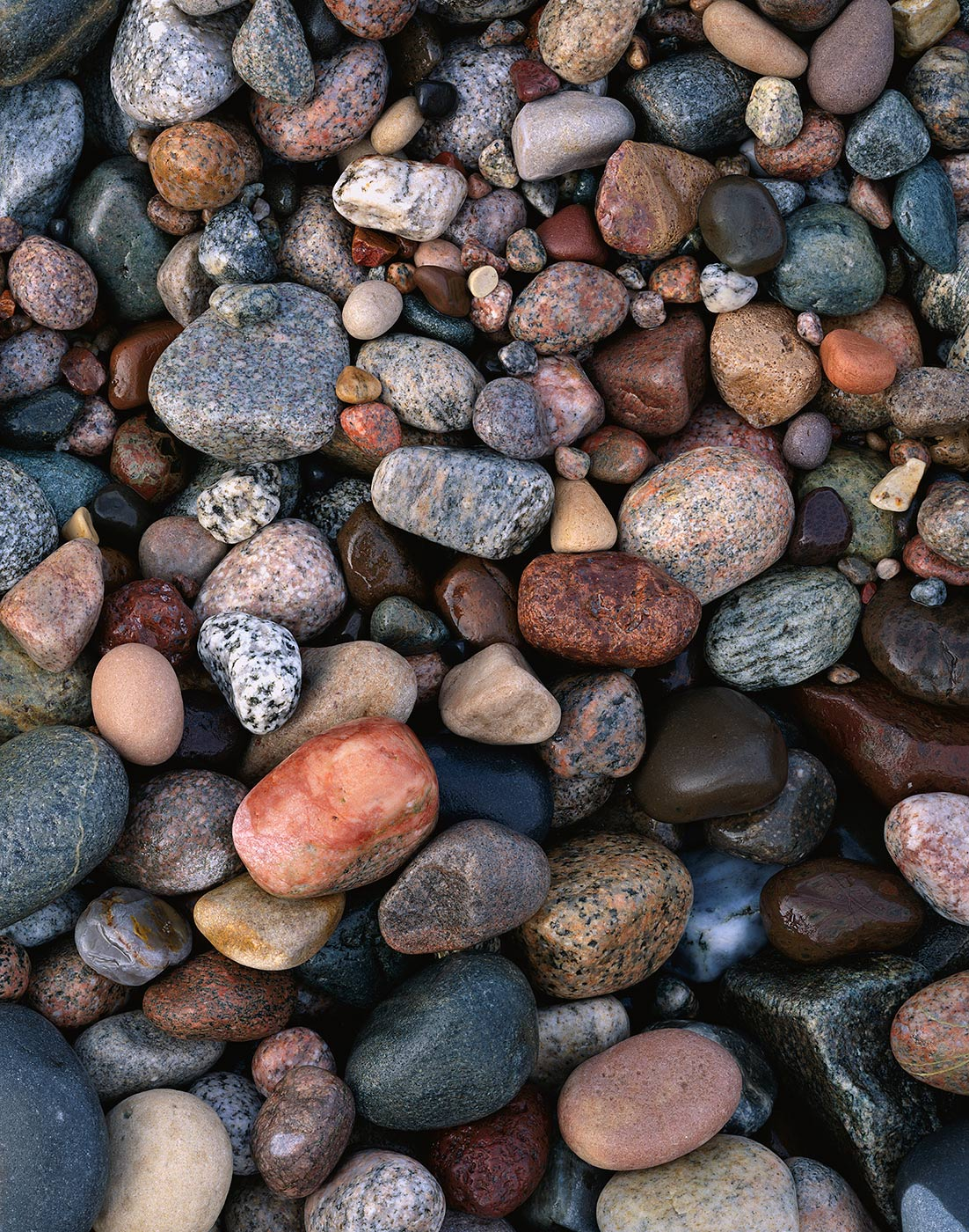 908 Pebbles & Stones, Pictured Rocks National Lakeshore, Michigan