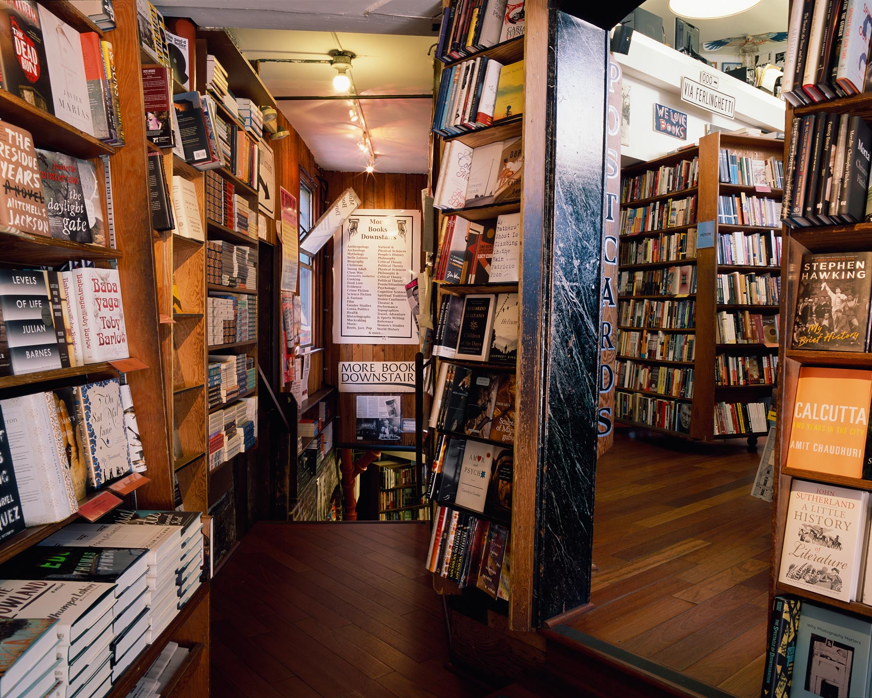 Lobby, City Lights Bookstore, San Francisco