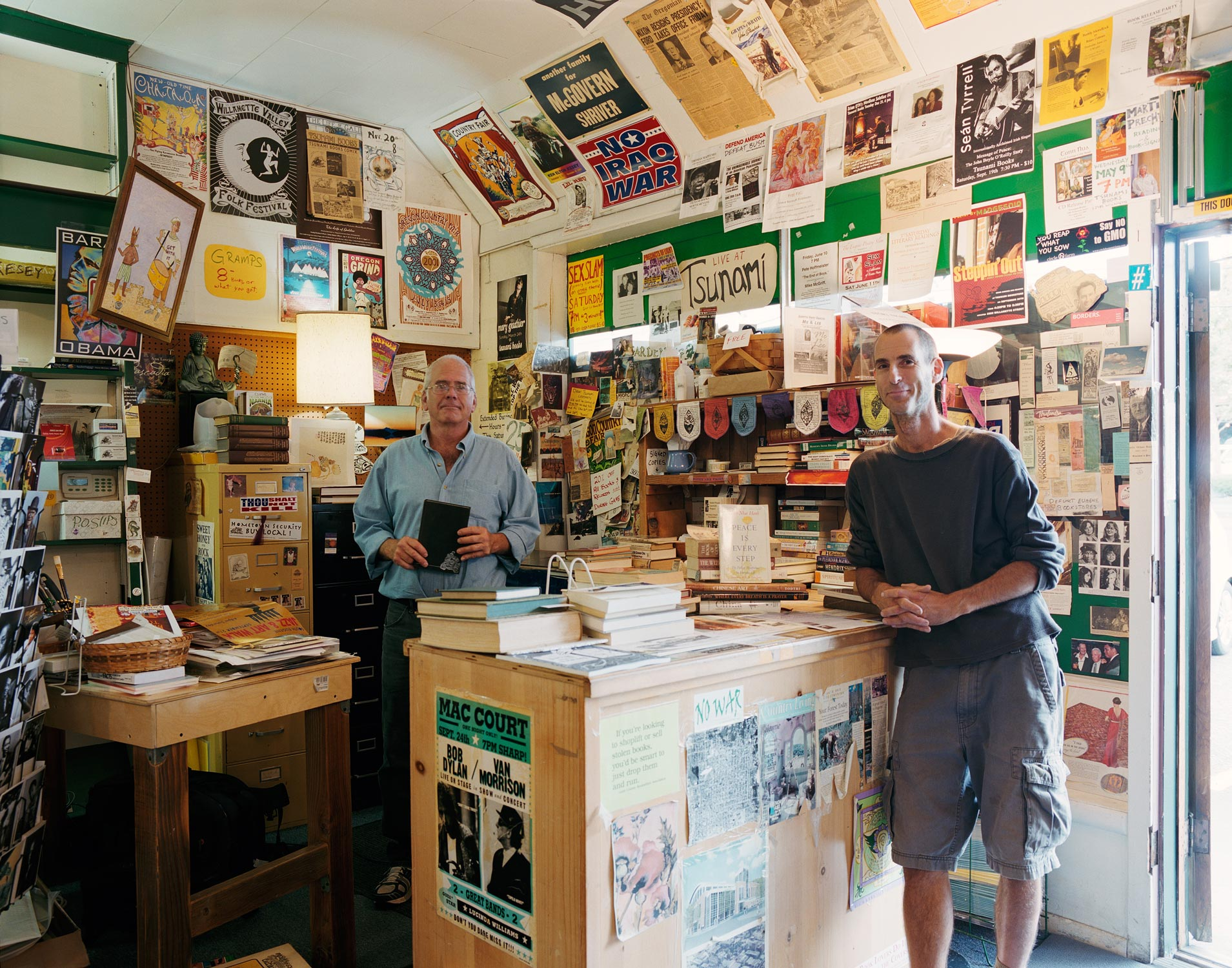 Scott and Dave, Tsunami Books